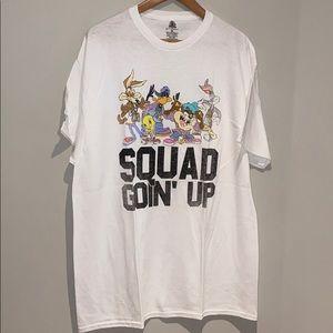 Looney Tunes Squad Up Mens T-shirt
